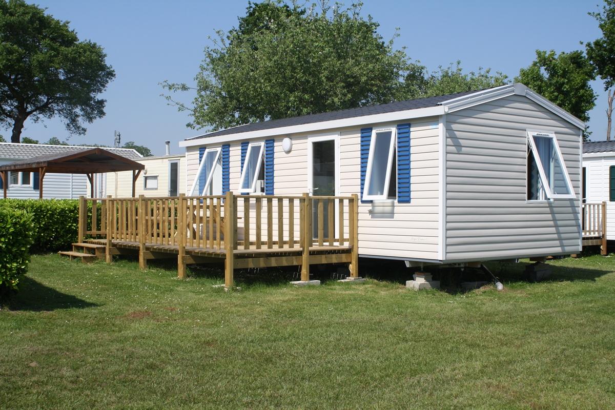Offres à La Nuitée Sur Location Mobil Home Au Camping 3 étoiles De  Kerscolper à Fouesnant